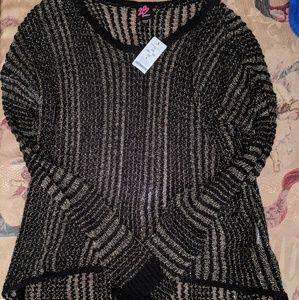 2B Bebe sweater hi low